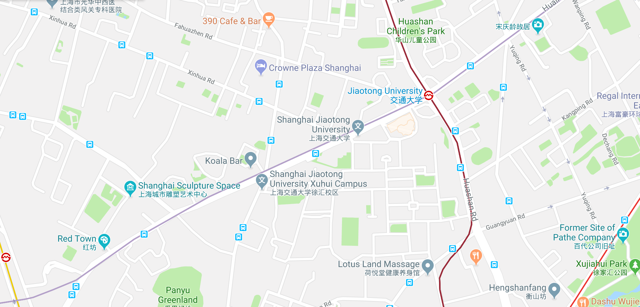 Map - English